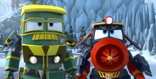 Роботы-поезда - 32 серия. В новый мир