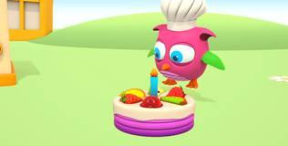 Совёнок Хоп Хоп - 4 серия. Торт