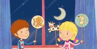 Дейзи и Олли. Детские песни - 15 серия. Про кошку и скрипку