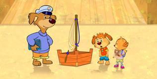 Пип и Альба. Приключения в Солёной бухте - 44 серия. Кораблестроители
