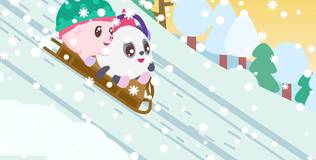 Малышарики - 113 серия. Снег