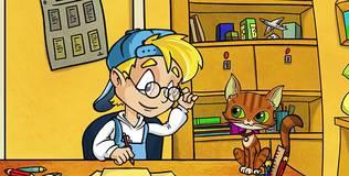 Профессор Почемушкин - Почему у кошек в темноте глаза светятся?
