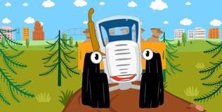 Синий трактор - 21 серия. По полям