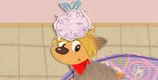 Клео — забавный щенок - 3 серия. Клео-шпион