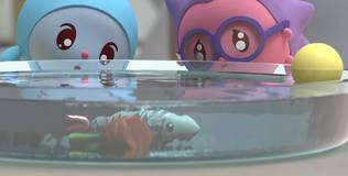 Малышарики - 115 серия. Дом для рыбки