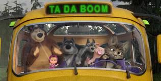 Маша и медведь: Песенки для малышей - 4 серия. Автобус