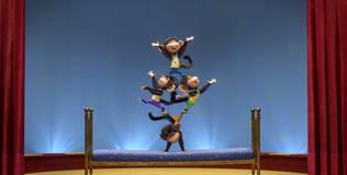 Маша и медведь: Песенки для малышей - 1 серия. Пять обезьянок