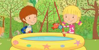 Дейзи и Олли. Детские песни - 7 серия. Считать до пяти