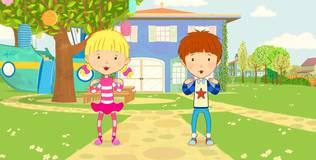 Дейзи и Олли. Детские песни - 2 серия. С макушки до ступней