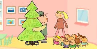 Дошколята - 21 серия. Рождественская ёлка