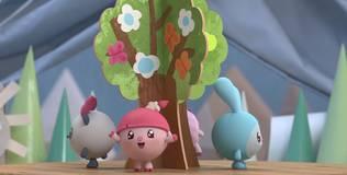 Малышарики - 42 серия. Дерево