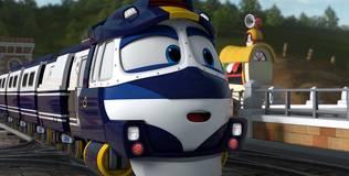 Роботы-поезда - 5 серия. Беги, Кей, беги!