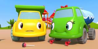 Синий трактор на детской площадке - 16 серия. Запахи