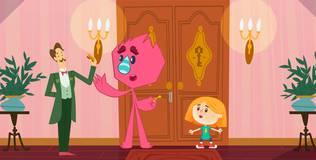 Катя и Эф. Куда-Угодно-Дверь - 26 серия. Золотой ключ