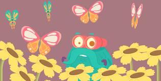 Шоу профессора Бинокса - 17 серия. Жизнь бабочки