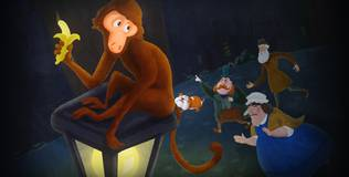 Волшебный фонарь - 45 серия. Доктор Джекил и обезьянка по имени Хайд