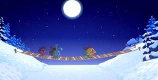 Смешарики. Новый год - Лунный заяц. Часть 1