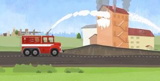 Доктор Машинкова - 17 серия. Пожарная машина