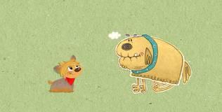 Клео — забавный щенок - 4 серия. Открой глаза