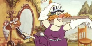 Приключения поросёнка Фунтика - 3 серия. Фунтик и старушка с усами