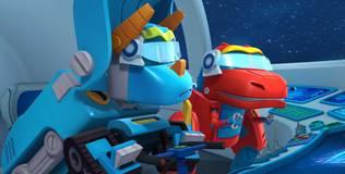 Команда Дино - 8 серия. Конфликт в космосе