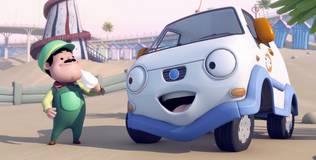 Олли: весёлый грузовичок - 3 серия. Любимое мороженое