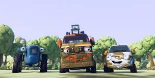 Олли: весёлый грузовичок - 7 серия. Наблюдение за птицами