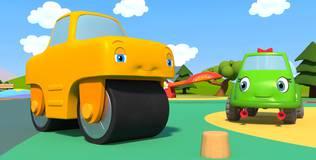 Синий трактор на детской площадке - 26 серия. Весёлые словечки