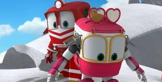 Роботы-поезда - 10 серия. Джейн и Кейн