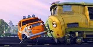 Олли: весёлый грузовичок - 60 серия. История с поездом