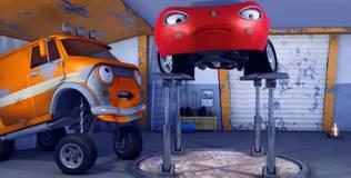 Олли: весёлый грузовичок - 53 серия. Новый имидж Сьюзи