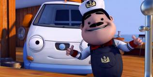 Олли: весёлый грузовичок - 64 серия. Олли-моряк!