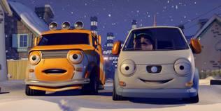 Олли: весёлый грузовичок - 43 серия. Олли и Рождество