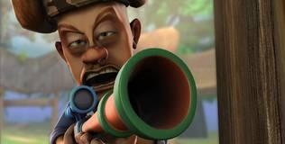 Медведи соседи - 91 серия. Отличное новое оружие охотника Вика