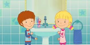 Дейзи и Олли. Детские песни - 21 серия. Утренние сборы