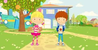 Дейзи и Олли. Детские песни - 1 серия. Если радуешься ты