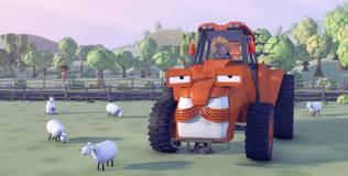Олли: весёлый грузовичок - 28 серия. Современный трактор