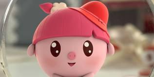Малышарики - 7 серия. Красная шапочка