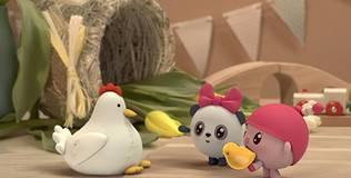 Малышарики - 95 серия. Мама для цыплёнка