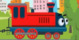 Котэ ТВ - 19 серия. Поезд и машины
