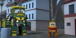 Роботы-поезда - 8 серия. Кей и Альф