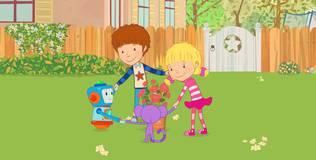 Дейзи и Олли. Детские песни - 18 серия. Розы пахнут сладко