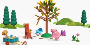 Деревяшки - 25 серия. Деревце