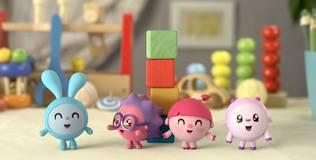 Малышарики - 6 серия. Башня