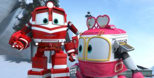 Роботы-поезда - 27 серия. Виктор в опасности