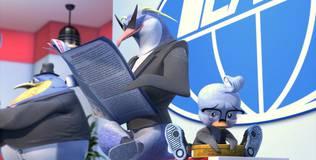 Пингвины-шпионы - 18 серия. Веселье с едой