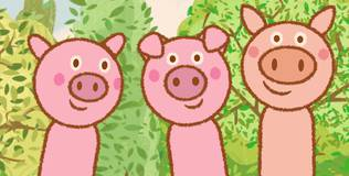 Дейзи и Олли. Детские песни - 22 серия. Про свинок