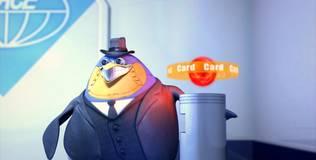 Пингвины-шпионы - 2 серия. Секретный вход