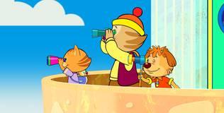 Пип и Альба. Приключения в Солёной бухте - 8 серия. В поиске птиц