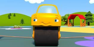 Синий трактор на детской площадке - 25 серия. Игры для Катка
